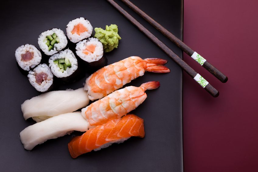 sushi is great