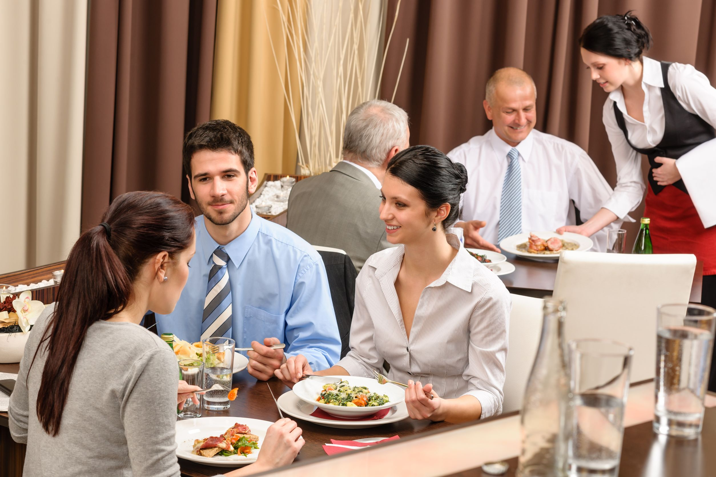 three aspects of a successfully managed restaurant