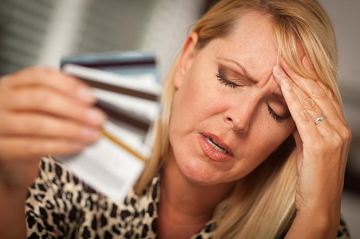 stress caused by the lack of money