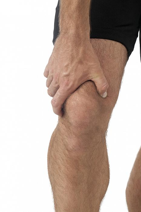 sportsman with joint pain in his knee - arthritis?
