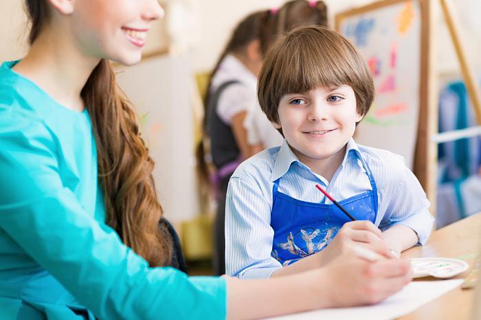 teaching children is very rewarding